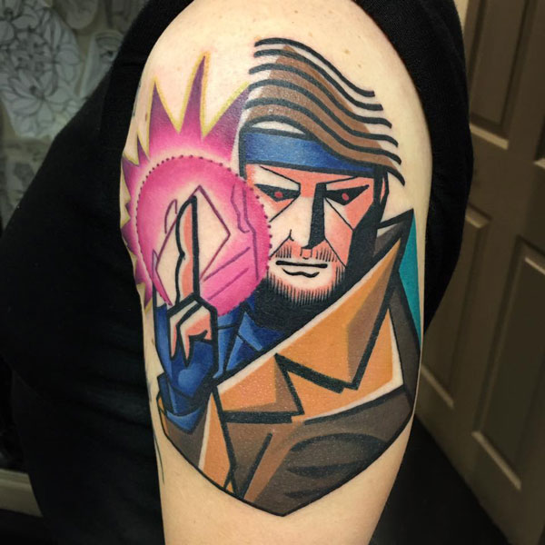 cubist tattoos by mike boyd 16 18 Awesome Abstract and Cubist Style Tattoos by Mike Boyd
