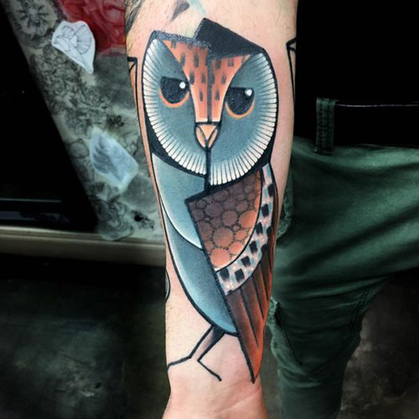 cubist tattoos by mike boyd 17 18 Awesome Abstract and Cubist Style Tattoos by Mike Boyd