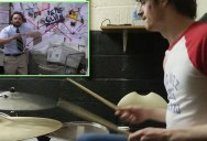 This Guy Drumming to a Scene from 'It's Always Sunny' is Strangely Captivating