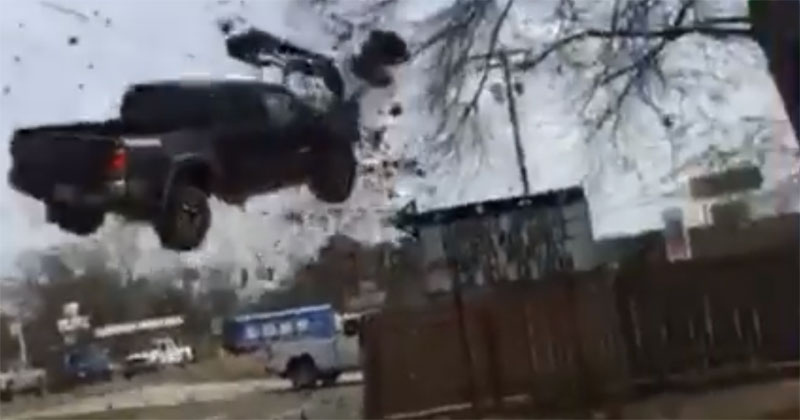 High-Speed Police Chase Ends in Insane Fashion