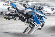 These BMW Designers Made a Hover Bike Out of LEGO and Turned It Into a Life-Size Replica