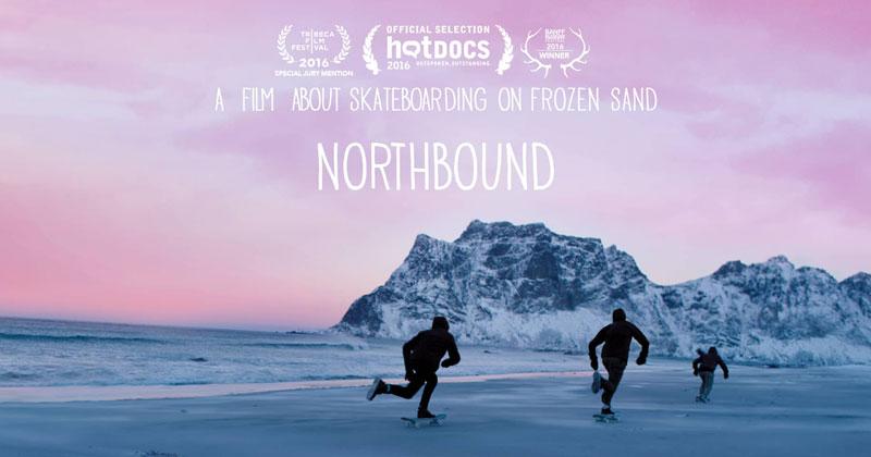Northbound: A Skateboard Film Shot on Frozen Sand