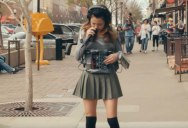 One-Woman Band Creates Entire Song While Casually Strolling Down the Street