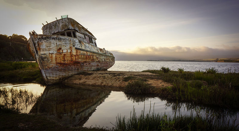 Picture of the Day: The Point Reyes Shipwreck Before It Burned Down
