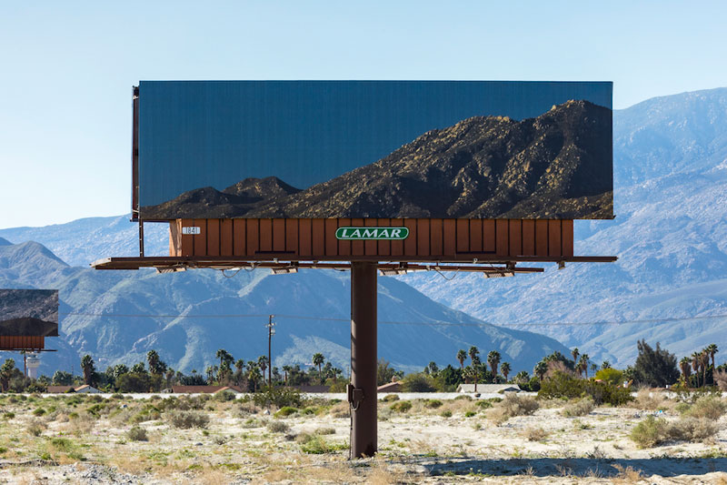 Artist Replaces Billboards with Photos of the Landscapes They're Blocking