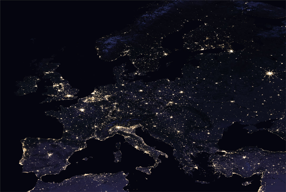 2016 europe NASA Releases Amazing New Photos of the World at Night