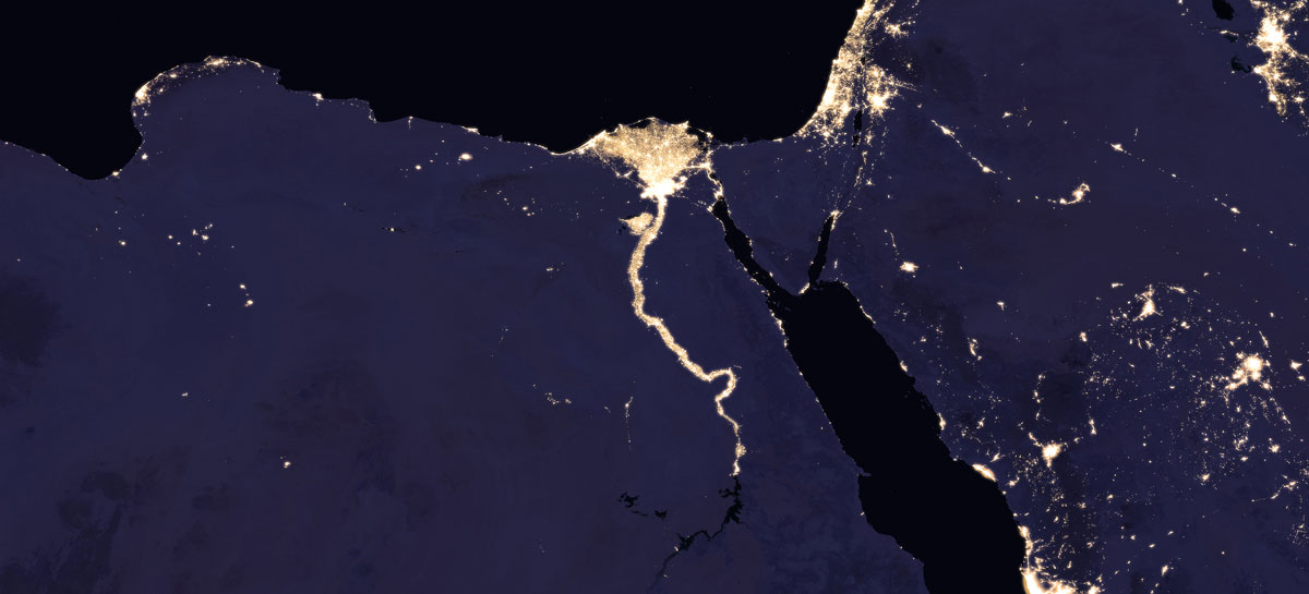 2016 nile NASA Releases Amazing New Photos of the World at Night