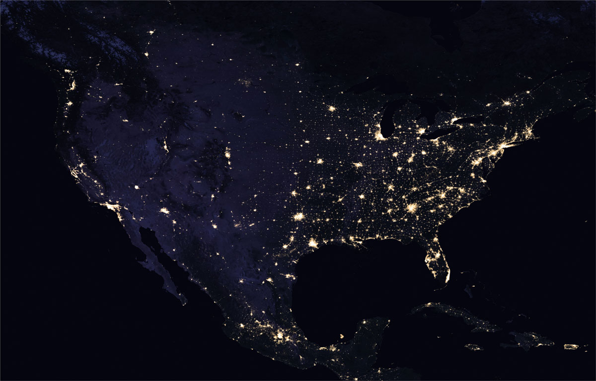 2016 north america usa NASA Releases Amazing New Photos of the World at Night