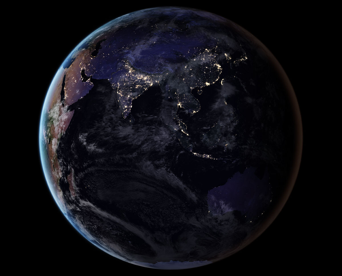 asia vir 2016 lrg NASA Releases Amazing New Photos of the World at Night