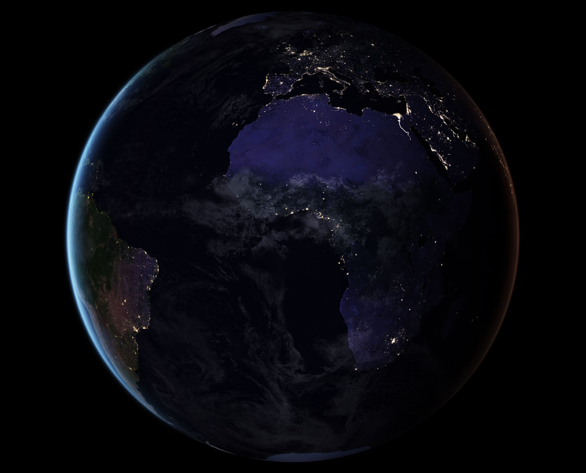 blackmarble 2016 euroafrica composite NASA Releases Amazing New Photos of the World at Night