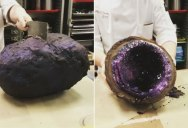 Two Culinary Students Made Gigantic, Chocolate Covered Rock Candy Geodes and I Want Them