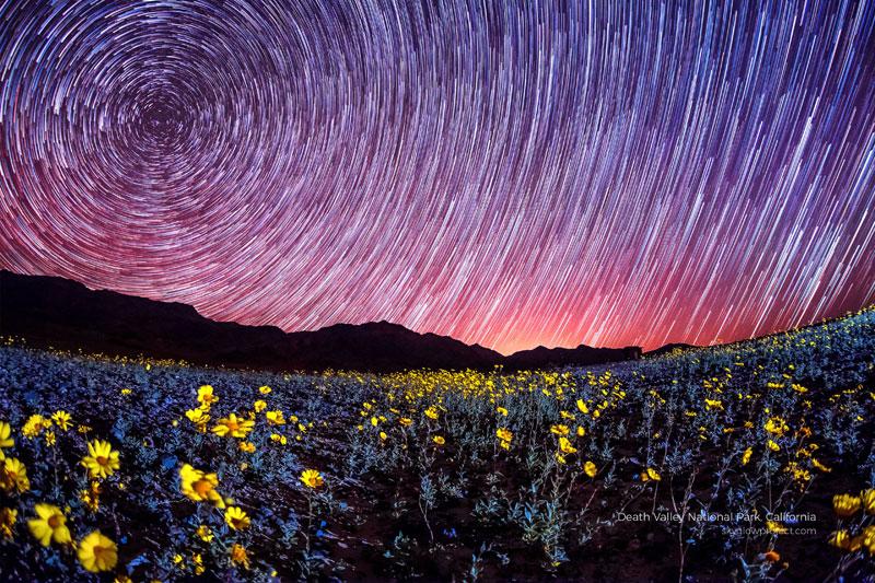 death valley 2 skyglow desktop wallpapers In Search of Americas Darkest Skies (24 Photos)
