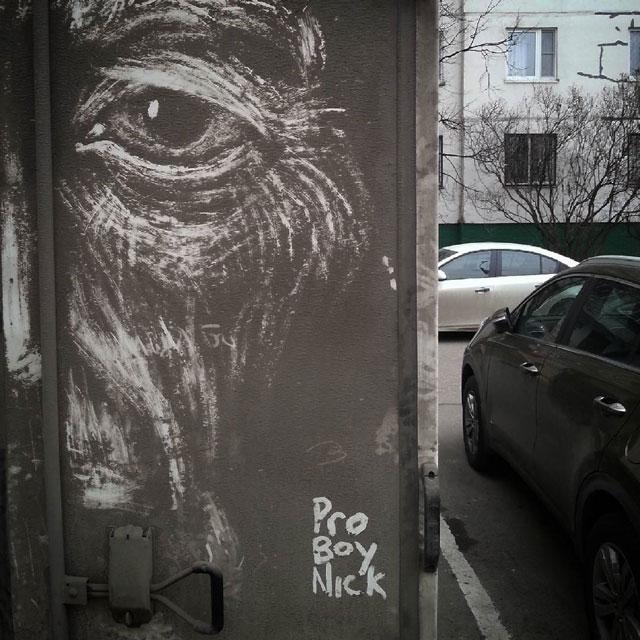 dirty car art by nikita golubev 8 Nikita Golubev Turns Dirty Cars Into Works of Art