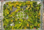 Picture of the Day: St Stephen's Green, Dublin from Above