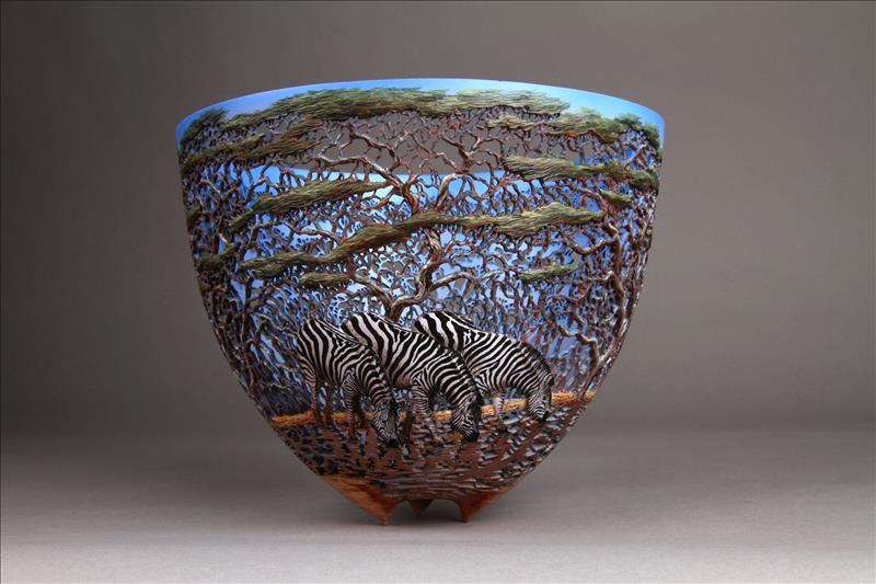 hand carved wooden bowls by gordon pembridge 12 This Artist Hand Carves Wooden Bowls Inspired by His Kenyan Roots