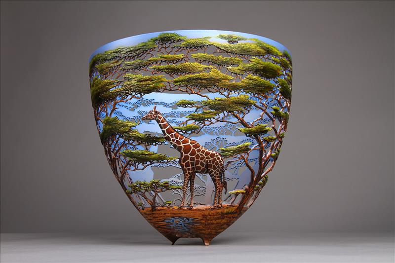 hand carved wooden bowls by gordon pembridge 9 This Artist Hand Carves Wooden Bowls Inspired by His Kenyan Roots