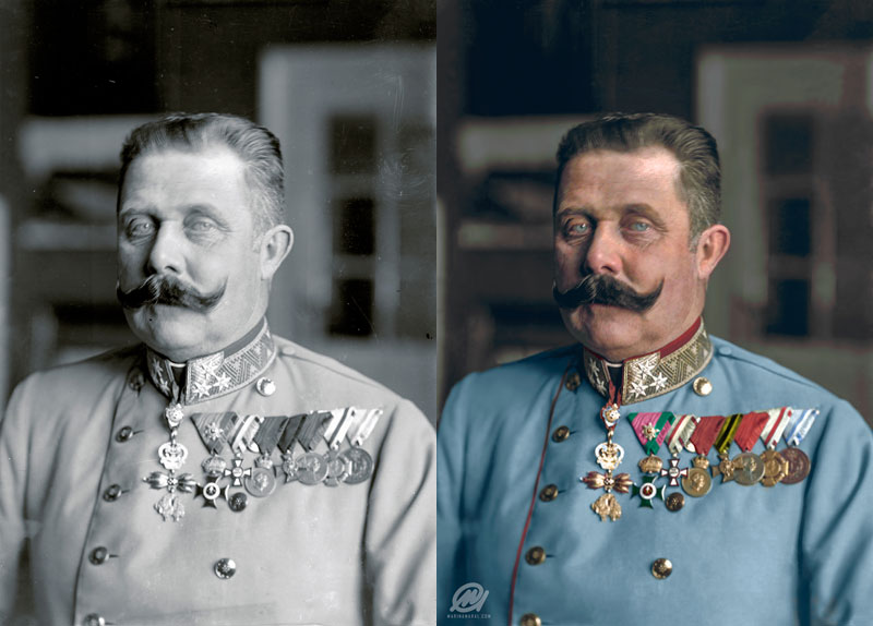 historic black and white photos colorized by marina amaral 23 21 Year Old Artist Brings History to Life Through Color (18 photos)
