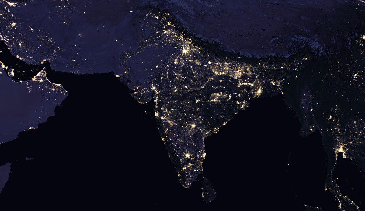 india 2016 NASA Releases Amazing New Photos of the World at Night