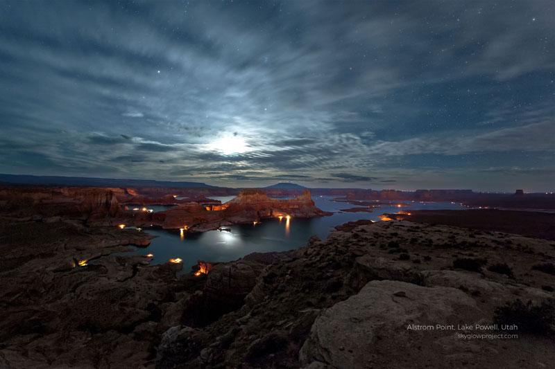 lake powell 1 skyglow desktop wallpapers In Search of Americas Darkest Skies (24 Photos)