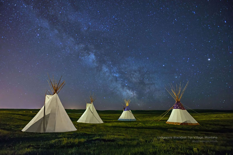 lodgepole 3 skyglow desktop wallpapers In Search of Americas Darkest Skies (24 Photos)