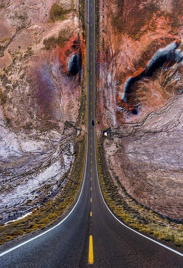 11 surreal folded landscapes by aydc4b1n buyuktas 1 11 Surreal Folded Landscapes by Aydın Büyüktaş