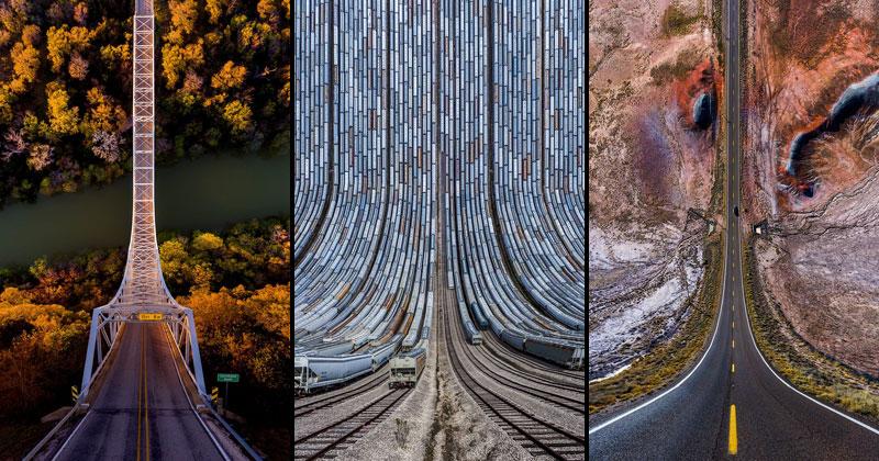 11 Surreal Folded Landscapes by Aydın Büyüktaş