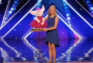 12 Year Old Ventriloquist Brings Down the House with Her Singing Routine