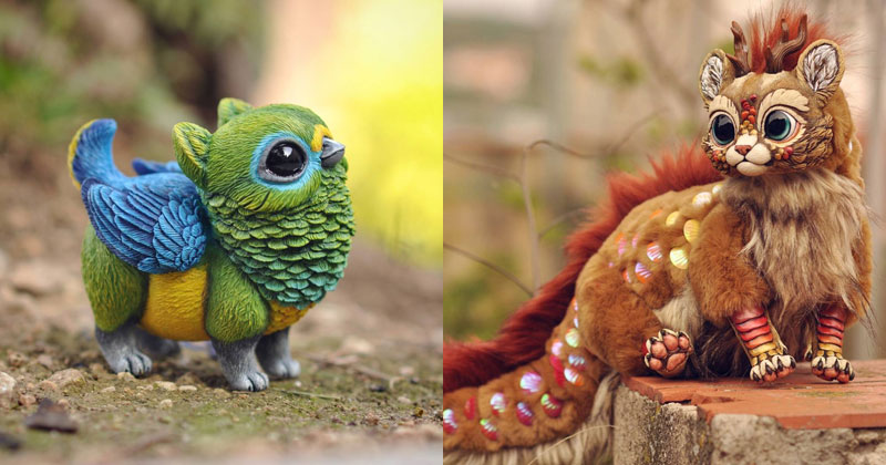 Sculptor Lisa Toms Dreams Up Creatures that Don't Live in Our World