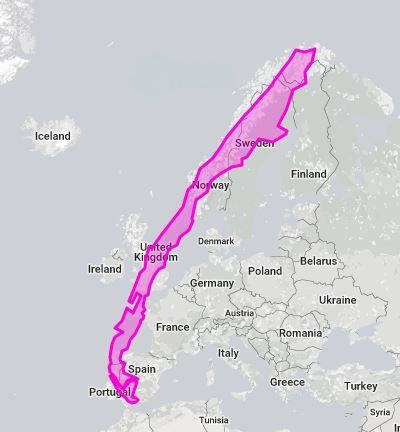 chilli over europe 8 Random Maps That Make You Go Hmmm