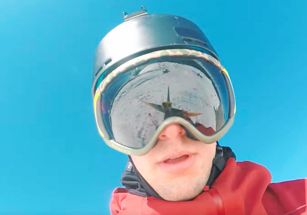 diy selfie drone Guy Makes His Own Selfie Drone By Chucking His GoPro in the Air Right Before Each Trick