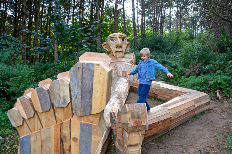 forgotten giants by thomas dambo 2 Artist Builds Forest Giants from Salvaged Materials and Hides Them in the Woods for People to Find