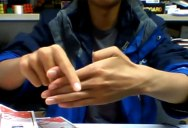 Thumb Trick Goes From 0-100 Real Quick [0:17]
