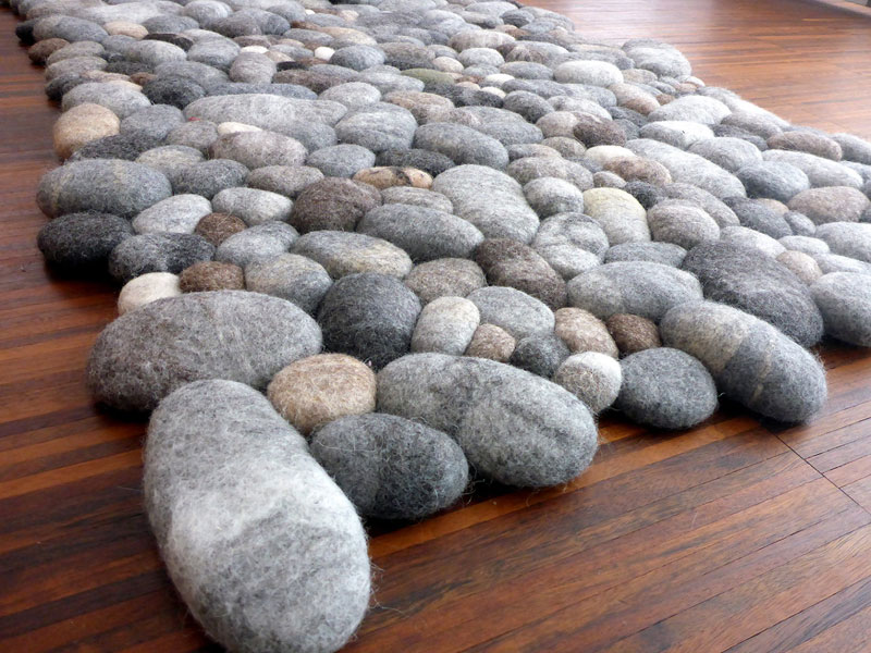 These Stone Rugs are Actually Plush and Squishy