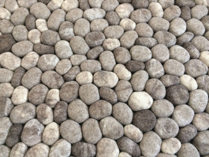 plush stone rungs by martina schuhmann flussdesign 7 These Stone Rugs are Actually Plush and Squishy