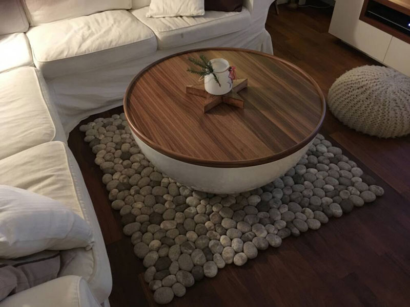 plush stone rungs by martina schuhmann flussdesign 8 These Stone Rugs are Actually Plush and Squishy