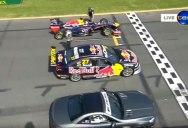 Red Bull F1 vs Supercar V8 vs Mercedes SL63