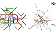 15 Subway Maps Compared to Their Actual Geography