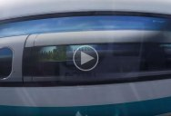 When Two Maglev Trains Pass Each Other