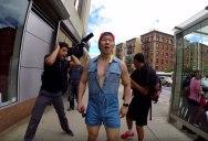 10 Hours of Walking Around NYC in a Denim Romper