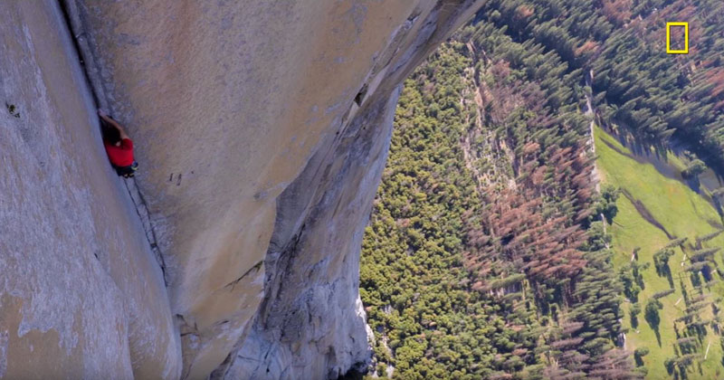 Nat Geo Releases First Exclusive Teaser Footage of Alex Honnold's Historic Climb