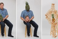 Proud Dad Posing with a Pineapple He Grew Goes Viral and the Photoshops are Hilarious