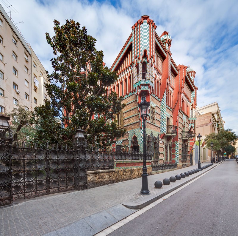 gaudi first house ever casa vicens 1 The First House Gaudi Ever Designed Just Opened to the Public After 130 Years