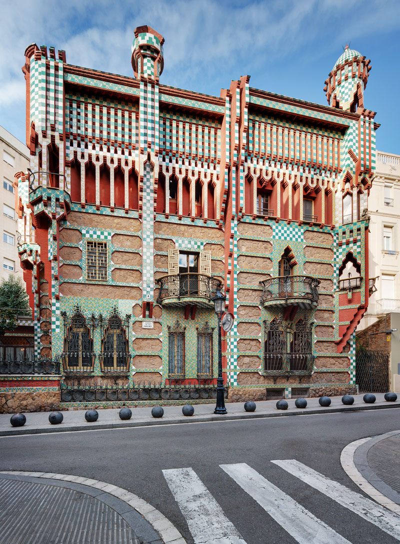 gaudi first house ever casa vicens 2 The First House Gaudi Ever Designed Just Opened to the Public After 130 Years