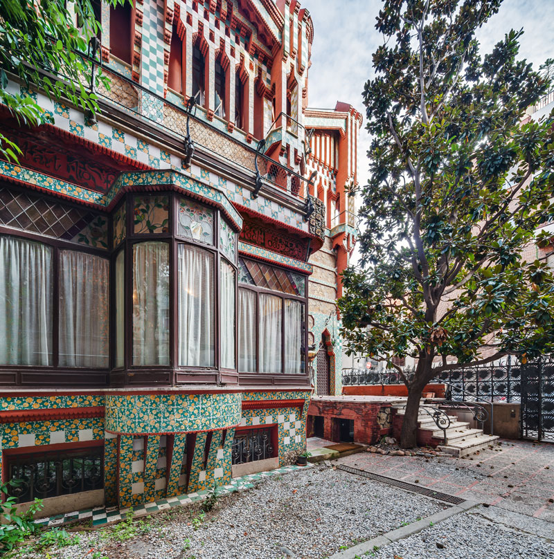 gaudi first house ever casa vicens 6 The First House Gaudi Ever Designed Just Opened to the Public After 130 Years
