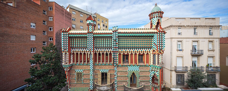 gaudi first house ever casa vicens 7 The First House Gaudi Ever Designed Just Opened to the Public After 130 Years