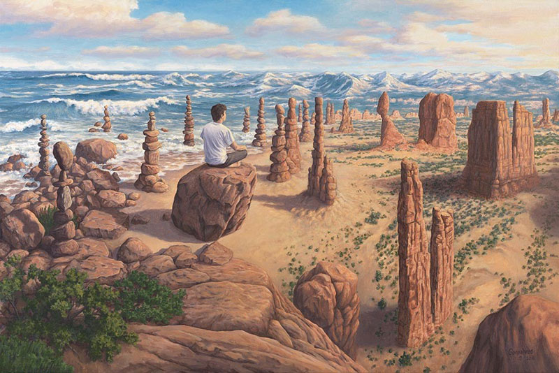 surreal paintings by rob gonsalves 11 12 Mind Bending Magic Realism Paintings by Rob Gonsalves