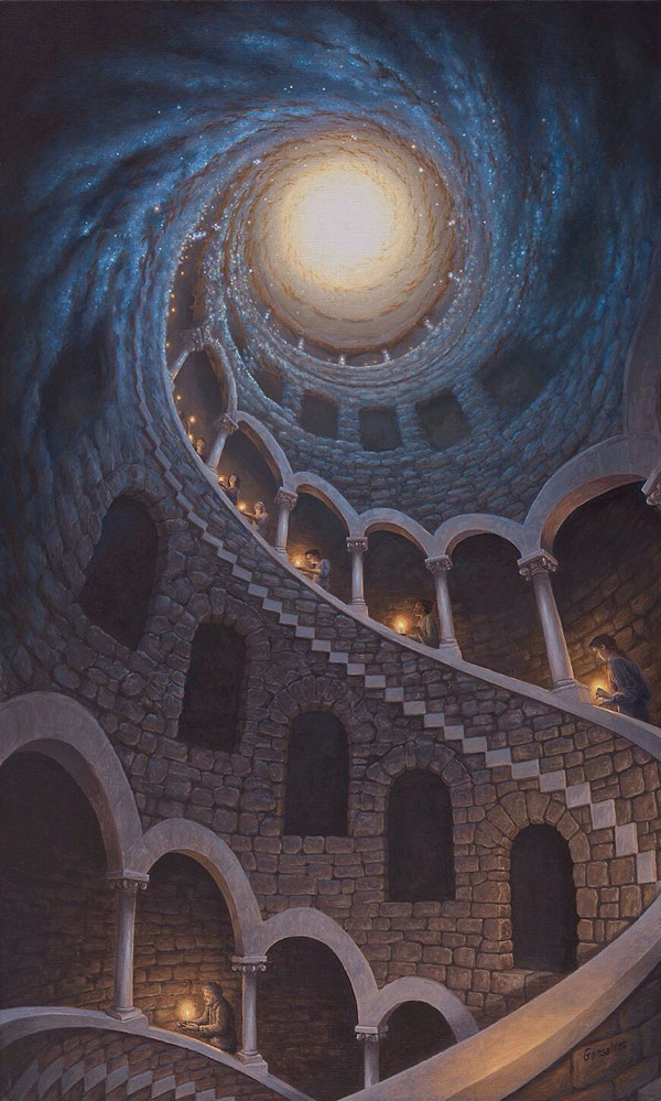 surreal paintings by rob gonsalves 9 12 Mind Bending Magic Realism Paintings by Rob Gonsalves