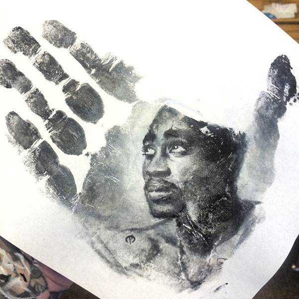 handprints by russell powell pangaen studios 11 Painter Uses Hand as Stamp in Creative Series of Handprints