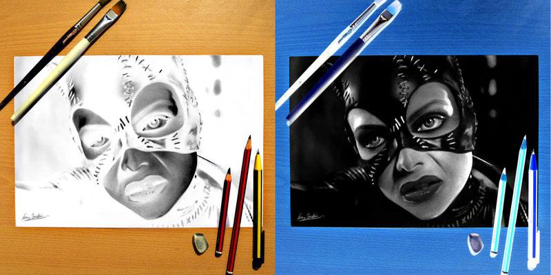 negative drawings by liam york 2 Trippy Negative Pencil Drawings by Liam York