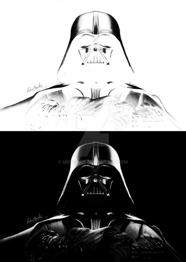 negative drawings by liam york 3 Trippy Negative Pencil Drawings by Liam York